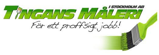 Tingans Måleri Logo